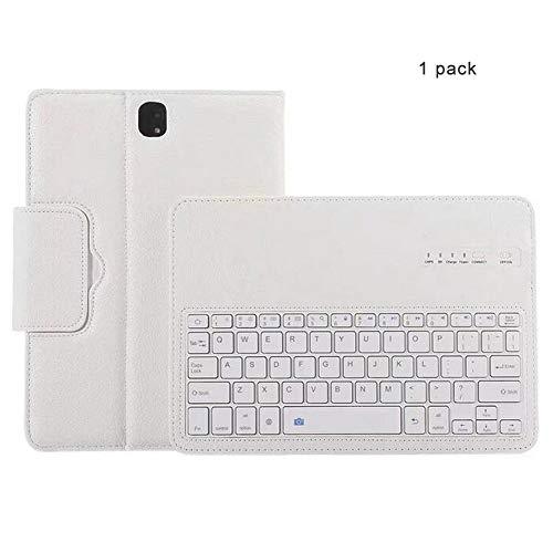 CAPTIANKN Tablet Split Bluetooth Tastatur für Samsung Galaxy 9.7-Inch Tab S3 Mit automatischem Schlaf,White - Split-tastatur-touchpad
