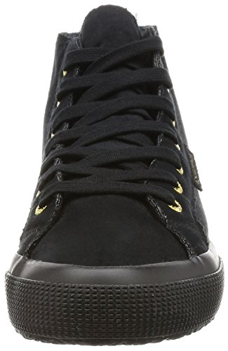 Superga 2795-Syntshearlingw, Scarpe Low-Top Donna Nero (Full Black)