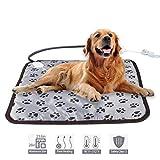 Haustier Hund Katze elektrische Heizkissen, Winter warm Teppich Bett Tier Heizdecke nach Hause Gärung Heizung Bodenmatte