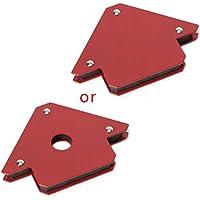 Kalttoy - Abrazadera magnética para soldadura de flecha, 3 ángulos, herramienta de soldadura de