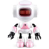 melysEU Robot Juguete Control Remoto con La Tecnología de Sensores de Movimiento y Equilibrio (Rosa)