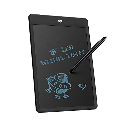 emebay–10'Tablet de escritura digital/Version puesta actualización de muy buena calidad/10pulgadas Tablet gráficas, LCD pizarra mágica para la escritura y el dibujo sin papel negro negro