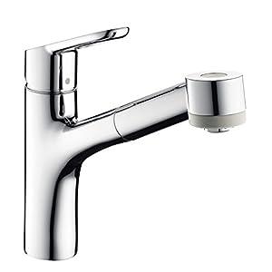 Hansgrohe 32850000 – Grifo de la cocina con ducha extraíble Chrome AZB Estado