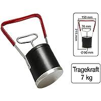 Magnetische Hebevorrichtung mit Handlöser Tragkraft 7 kg
