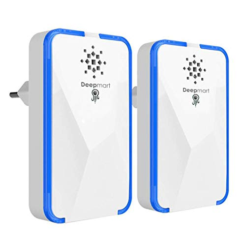 Deepmart DM45 - Repellente ad Ultrasuoni per Topi - Scacciatopi Ultrasuoni -...