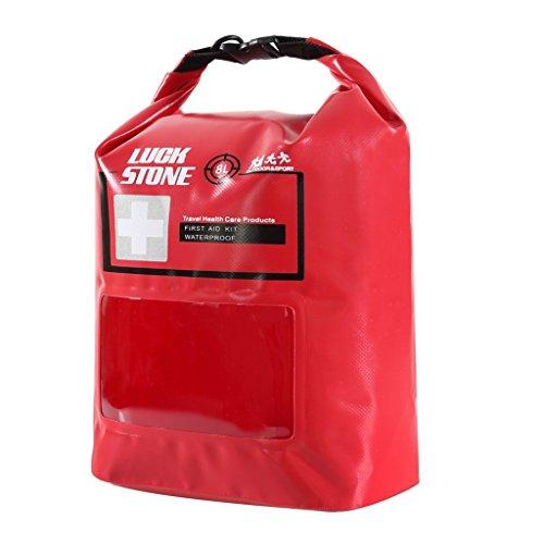 8L Erste Hilfe Kit Wasserdicht Tasche leer mit Reisetasche Freien Notfalltasche Dry Bag für Outdoor Camping Wandern Reisen Radsport Angeln Kajak Kanufahren Segeln Rafting (Kajak Trinken Zubehör)