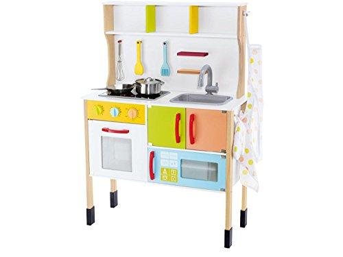 Wunderbar ... Junior Spielküche Aus Echtholz Für Mädchen Kinderküche Kinder Spiel  Küche ...