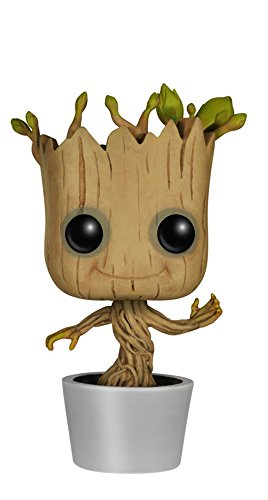 Funko Pop ! - Les Gardiens de la Galaxie - Bobble-Head Dancing Groot