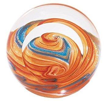 Glass Eye Studio Jupiter Mundgeblasenes Glas Briefbeschwerer