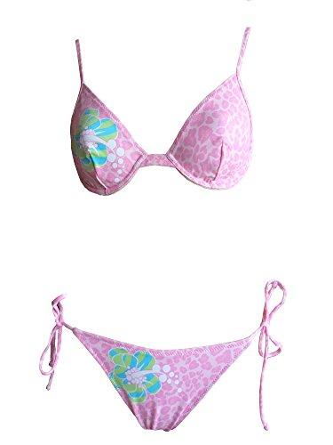 La Perla Oceano by Bügel-Bikini in rosa/rot mit Formbügel, Gr. 40 B-Cup