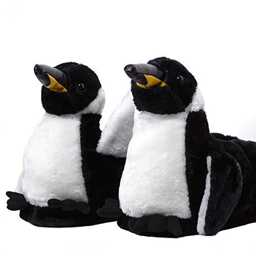 Sleeper'z – Pinguino – Zapatillas de casa animales originales y divertidas – Adultos y Niños - Hombre y Mujer – L