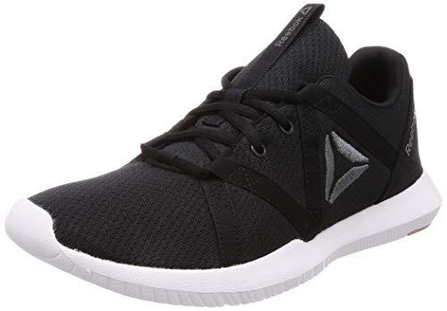 Reebok Herren Reago Essential Fitnessschuhe, Mehrfarbig (Black/Alloy/Field Tan/White 000), 42 EU
