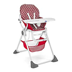 Chicco Pocket Lunch Highchair (Red Wave)