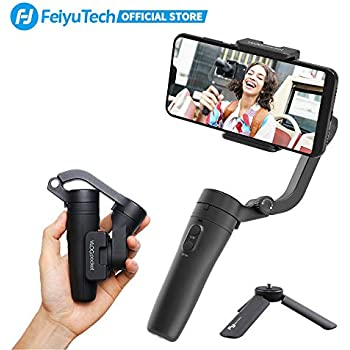 FeiyuTech Vimble 2 Extendable Handheld 3-Axis Stabilizer Gimbal for Smartphones iphone X Anti-shake selfie stick Time-Lapse /& Face Tracking iOS//Android APP for Auto Panoramas