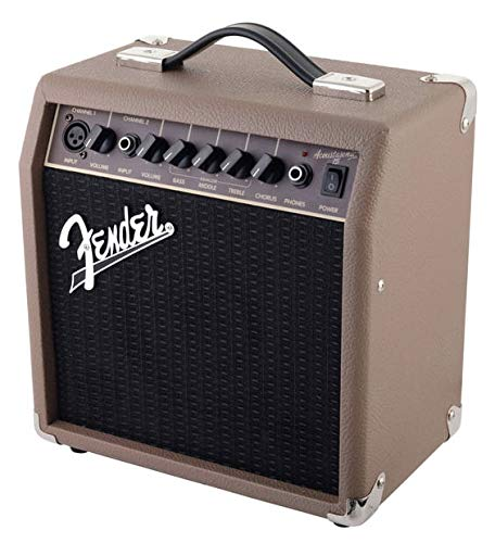 Fender - acoustic guitar amplifier 15 w - instruments / amplifiers