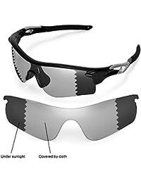 Sunglasses Restorer Lentes de Recambio Polarizadas para Gafas de Sol Oakley Radarlock Ventilada