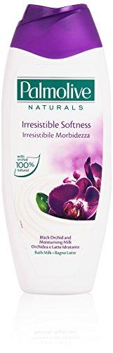 Palmolive - Naturals, Bagno Latte Irresistibile Morbidezza, Orchidea e Latte Idratante - 500 ml