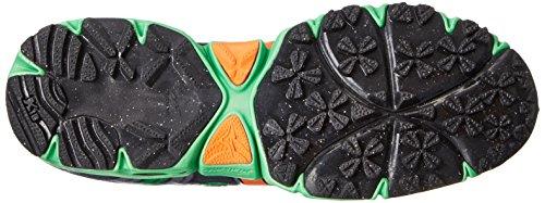 Mizuno Wave Kazan Synthétique Chaussure de Course Turbulence-Vibrant Orange