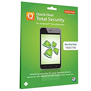 Quick Heal Total Security for Android (Mobile & Tablets) 1 User 2 Year
