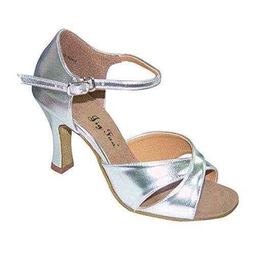 Damen Latein Tanzschuhe für Erwachsene/ Ballroom Dancing Square Dance Schuhe/Weiche bequeme Tanzschuhe am Ende des C