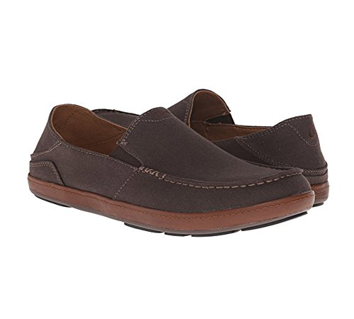 OluKai Puhalu Canvas Men dark java/toffee