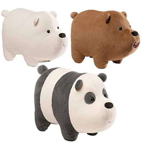 "We Bare Bears 12"" Plush, Set of 3"