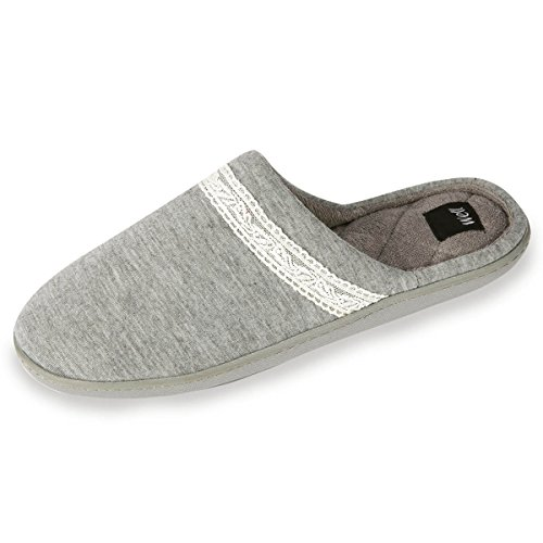 Isotoner ,  Pantofole Donna Grigio
