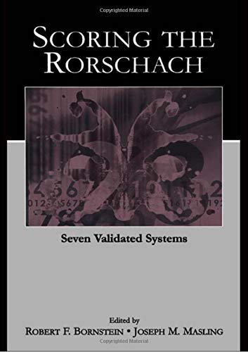 Pdf Scoring The Rorschach Seven Validated Systems Personality