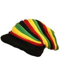 Bonnet casquette rasta à visière - Marque itendance