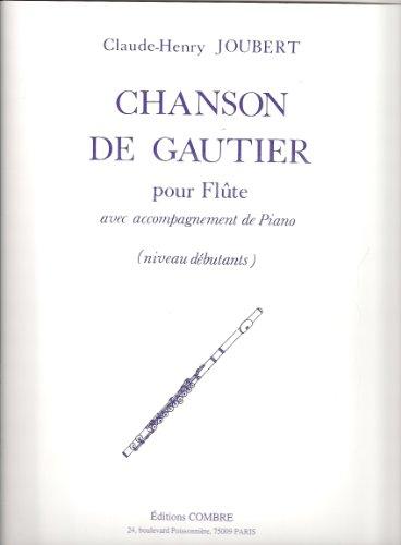 Chanson de Gautier pour Flûte avec acco...