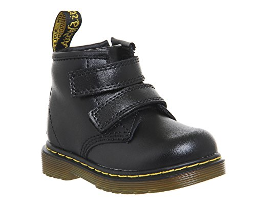 Dr Martens Infants Noir Brooklee Velcro Bottes Noir