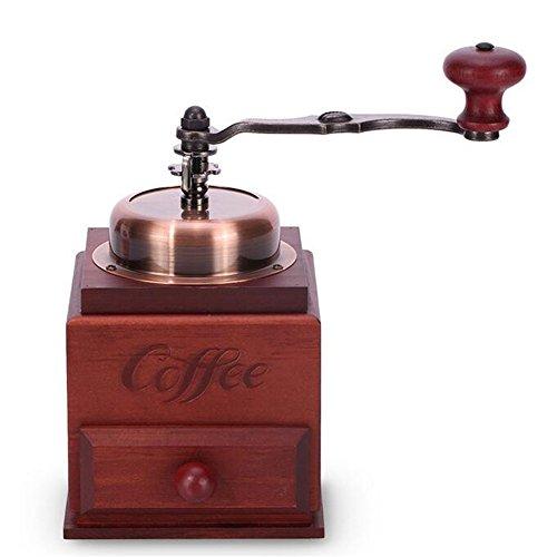 Manuelle Schleifmaschine Pfeffer Schleifen Kaffeebohne Grinder Schleifen Kaffee Pulver Grinder...
