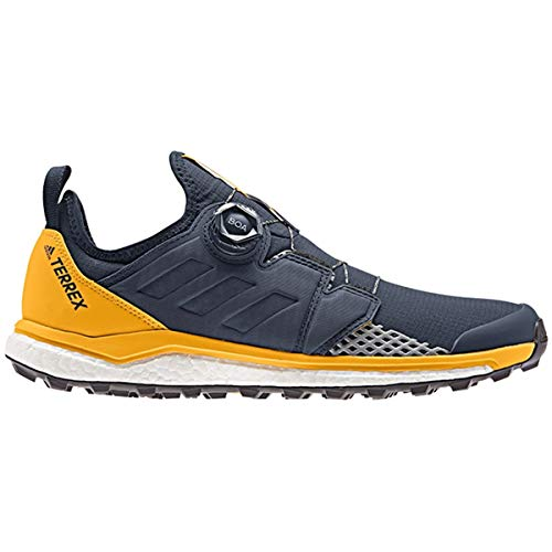 Cross-trainer Schuhe (adidas Herren Terrex Agravic Boa Cross-Trainer, Blau Collegiate Navy/Active Gold, 44 EU)