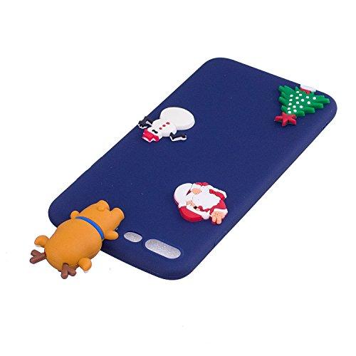 Coque iPhone 7 Plus , Coque iPhone 8 Plus TPU Etui Housse en Silicone Gel Flexible Souple Ultra Mince de Protection Case Cover Mode Dessin Motif 3D Cartoon Animaux Mignons Panda Pour Apple iPhone 7 Pl Bleu