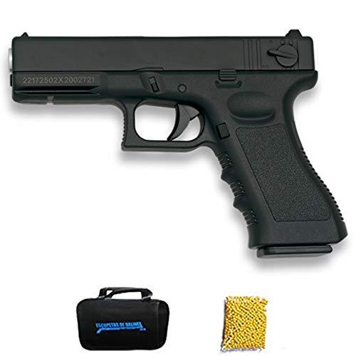 Golden Eagle Glock Negra | Pistola de Airsoft con Sistema Muelle para Bolas de 6mm. Potencia: