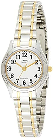 Casio Women's Watch Metal Fashion LTP-1275SG-7BDF White Water resistant Stainless steel