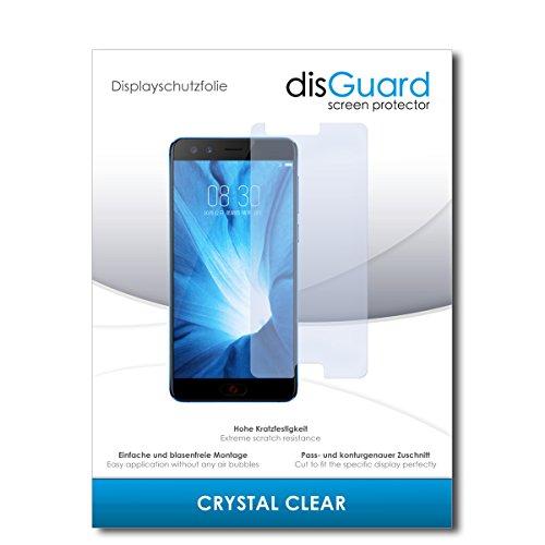 disGuard® Displayschutzfolie [Crystal Clear] kompatibel mit Nubia Z17 Mini S [2 Stück] Kristallklar, Transparent, Unsichtbar, Extrem Kratzfest, Anti-Fingerabdruck - Panzerglas Folie, Schutzfolie