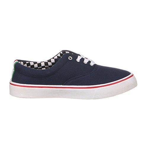 Damen Schuhe, F10200A, HALBSCHUHE Blau
