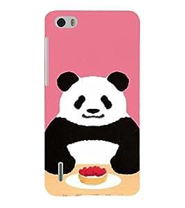 EPICCASE Panda food Mobile Back Case Cover For Huawei Honor 6 (Designer Case)