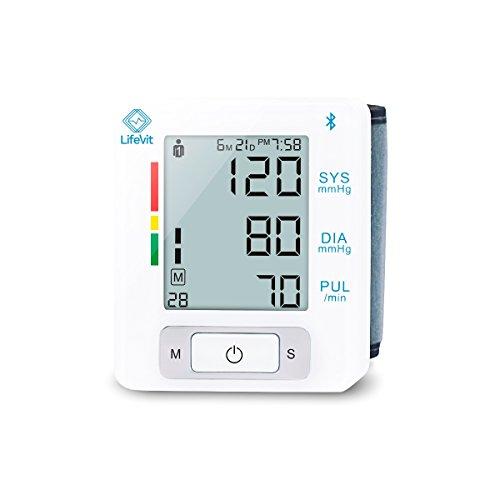 LifeVit BPM-150-Tensiómetro Muñeca Inteligente-