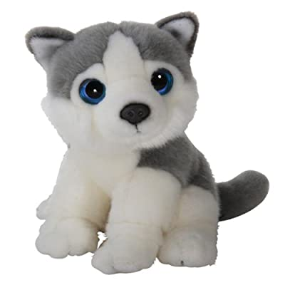 Peluche Perro,Husky,18cm