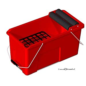 41UnBVM6nVL. SS300  - Rubi 25949 Cubeta, Rojo