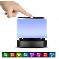 Nachttischlampe,SUAVER LED Bluetooth Lautsprecher LED Farbwechsel Lampe Nachttischlampe Touch control lampe Mit... preisvergleich bei billige-tabletten.eu