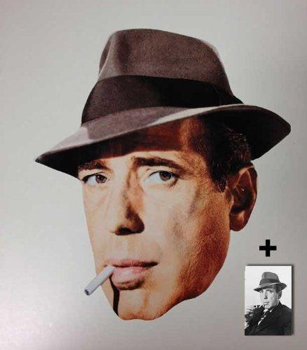 Humphrey Bogart Karte Partei Gesichtsmasken (Maske) - Enthält -