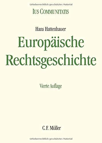 Europäische Rechtsgeschichte (Ius Communitatis)
