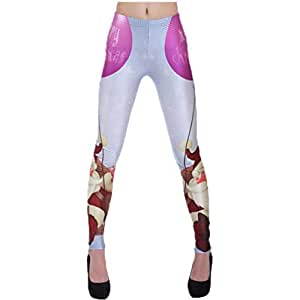 Minceur Pantalon fantaisie Leggins Merry Christmas Jeggings Leggings