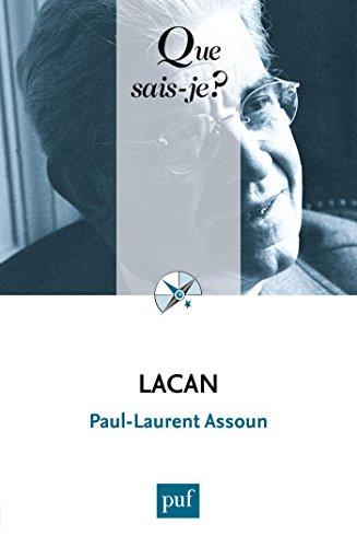 Lacan: « Que sais-je ? » n° 3660