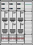 Zählerschrank, 6 Zählerplätze, Verteilerfeld, 3.Hz