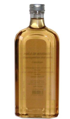 Look Concept - Huile de massage professionnelle - Gourmandise des sens - 500 ml - A l'Extrait de cacao