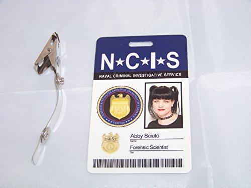 ientist Abby Sciuto , NCIS , ID - Karte , ID Badge (Ncis-abby)